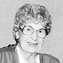 Agnes Cross RACINE – Our beloved mother, Agnes Cross, born in Cloquet, Minn. on December 18, 1920, has been called home by Christ. - crossa01